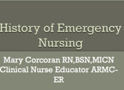 History Of Emergency Nursing